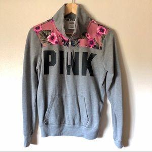 PINK by Victoria's Secret Quarter Zip Pullover XS
